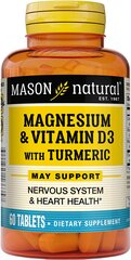 Magnesium with Vitamin D3 and Turmeric 500 mg / 3000 IU / 150 mg