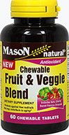 Chewable Fruit & Veggie Blend