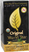 Wu-Yi Tea Original <p><b>From the Manufacturer's Label: </p></b><p>Each tea bag contains approximately 35 mg of caffeine.  We have added organic Wu-Yi Tea extract high in Polyphenols and Antioxidants (EGCGs and catechins) for maximum weight loss support and health benefits.**</p>  <p><i>Warning:</i> Before beginning any weight loss program please consult your physician.  Do not use if you are pregnant or nursing.</p> 25 Tea Bags  $5
