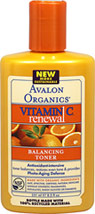 Avalon Vitamin C Balancing Facial Toner <p><b>From the Manufacturer's Label:</b></p>  <p><b>Balancing Facial Toner </b></p>  <p>Clarifies, tones and hydrates Plus Antioxidant Protection For All Skin Types </p>  <p>Our Balancing Facial Toner with Vitamin C, organic Aloe, Cucumber and Papaya extracts gently removes impurities, tones pores and balances your skin's natural moisture, protecting against free radical damage generated