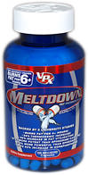 Meltdown <p><b>From the Manufacturer's Label </b></p> <p>Meltdown® is manufactured by VPX.</p>  120 Capsules  $39.99