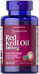 Red Krill Oil 1000 mg (170 mg Active Omega-3)