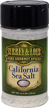 California Sea Salt <b><p> From the Manufacturer:</b></p><p>Sea salt is created from evaporated sea water, while traditional table salt is refined from mined rocks. California Sea Salt is an ideal all-around salt evaporated directly from the waters of the Pacific Ocean. The result is a nice white crystal with a low moisture content that works well in all recipes – it's also great for use in pasta water. Our all-natural California Sea Salt undergoes less processing,