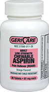 Baby Aspirin Low Dose 81 mg