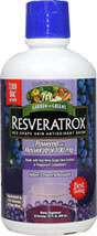 Resveratrox™ Red Grape Skin Antioxidant Drink <p><b>From the Manufacturer's Label: </p></b><p>Nature's Potent Antioxidant</p> <p>Made with Red Wine Grape Skin Extract & Polygonum Cuspidatum</p> <p>Powered with 100% Standardized Trans-Resveratrol</p> <p>Equivalent to 156 Glasses of Red Wine</p> <p>Garden Greens™ Resveratrox™ Liquid combines the healthy benefits of red wine grapes with Polygonum Cuspidatum root e