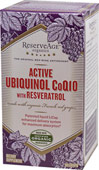 Active Ubiquinol Co Q-10 with Resveratrol
