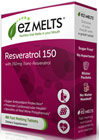 EZ Melts™ Resveratrol 150 <p><b>From the Manufacturer's Label: </p></b><p>Fast Melting Tablets</p>  <p>Sugar Free</p>  <p>No Water Needed</p>  <p>Great Tasting!</p>  <p>Natural Grape Flavor</p>    <p>REZMelts™ Resveratrol provides your body with powerful antioxidant protection to help you feel and perform at your best each day.**</p>    <p>REZMelts™ formula contains the purest and most poten