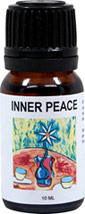 "Inner Peace Affirmation Essential Oil Blend <p><strong>From the Manufacturer's Label: </strong></p><p>100% Pure Essential Oil Blend includes:  </p>Orange for joy <p></p><p>Clove Bud for serenity</p><p>Geranium for stress </p><p>Lavender for the nerves and</p><p>Patchouli for peace, love and understanding</p><strong></strong><p><strong>Affirmation- ""As I breathe in clove, ge"