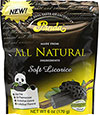 All Natural Soft Licorice Chews Black