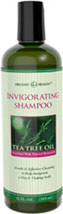 Organic Health™ Invigorating Tea Tree Oil Shampoo