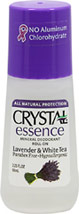 Crystal® Lavender & White Tea Mineral Deodorant Roll-On <p><b>From the Manufacturer's Label:</b></p>  <p>Paraben Free</p> <p>Hypoallergenic</p>  <p><b>Natural Deodorant Protection</b></p> <p>Crystal essence™ Lavender & White Tea, made of natural mineral salts and infused with the relaxing aromas of lavender and white tea, creates an invisible protective barrier against odor-causing bacteria.  Lavender