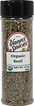 Organic Basil <b><p> From the Manufacturer:</b></p><p>Basil is one of the most versatile herbs and is prized for its pleasantly sweet flavor. As a member of the mint family, Basil is native to India, where it has been cultivated for thousands of years. When accenting your recipes with Basil, it's best to add it toward the end of the cooking process to avoid burning it.</p>  0.7 oz Other  $5.99