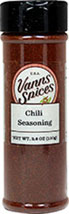 Chili Seasoning <b><p> From the Manufacturer:</b></p><p>You'll be hooked on our Chili Seasoning – literally! It contains capsaicin, a fiery hot compound that releases endorphins and is thought to be addicting. In addition to bringing some heat to your favorite chili recipes, this seasoning can also be used as a rub to create a spicy coating for all types of meats. Our Chili Seasoning is a blend of paprika, salt, garlic, pepper, onion, cayenne, thyme and rice concent
