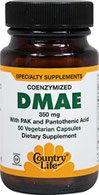 DMAE 350 mg with Pantothenic Acid