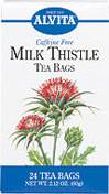 Milk Thistle Tea <p><strong>From the Manufacturer's Label: </strong></p><p>Caffeine Free</p><p>Milk Thistle has been used as both a food and a health aid for hundreds of years.</p><p>Natural Herb Teas that are good for you and the environment.</p> 24 Tea Bags  $4.49