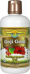 GOJI GOLD 100% PURE ORGANIC JUICE -32 oz-Liquid