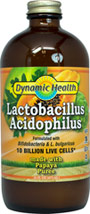 Liquid Acidophilus Papaya