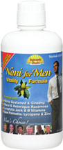 Noni for Men Vitality Formula <p><b>From the Manufacturer's Label:</b></p> <p> Noni for Men Vitality Formula is manufactured by Dynamic Health.</p> 32 oz Liquid  $15.99