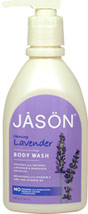 Jason® Lavender Pure Natural Body Wash <p><b>From the Manufacturer:</b></p> <p><b>Soothes</b> with Natural Lavender & Marigold Extracts</p> <p><b>Nourishes</b> with Vitamin E and Pro-Vitamin B5</p>  <p>No Parabens, Sodium Lauryl/Laureth Sulfates or Phthalates</p>  <p>This gentle wash cleanses with natural botanical surfactants and safely nourishes with Vitamin E and Pro-Vitamin B5.  Our natural ble