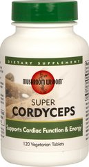 Cordyceps Super <p><strong>From the Manufacturer's Label: </strong></p><p></p><p>Energy and Cardio Support**<br /><br />Cordyceps (Cordyceps sinensis) has a very long history of use in traditional Chinese Medicine wher3e it is regarded as the highest quality remedies.  Traditionally used a longevity and vitality aid, Cordyceps has gained fame for its ability to build energy and increase endurance.**</p><p>Manufactured