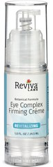 Reviva® Labs Eye Complex Firming Cream <p><strong>From the Manufacturer's Label: </strong></p><p>For All Skin Types.**</p><p>Special Herbs Help Firm, Tone & Detoxify.**</p><p>For Under-Eye Shadows, Bags & Crow Feet.**</p><p>This delicate eye area cream contains a herbal complex for firming, plant extract to improve circulation and vegetable oils to aid dryness. It's light, easily applied and quickly ab