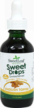 Stevia Liquid Extract English Toffee