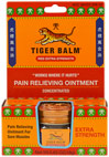 Tiger Balm® Extra Strength Ointment <p><strong>From the Manufacturer's Label:</strong></p><p><strong>Provides Soothing Relief for Aches & Pains** Due to:</strong></p><p>- Backaches</p><p>- Arthritis</p><p>- Over-exertion</p><p>- Joint Pains</p><p>- Stiffness</p><p>- Sprains</p><p>Manufactured by Tiger Balm®.</p> 0.63 oz Ointment  $5.49