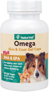 Omega Gel Caps for Dogs & Cats