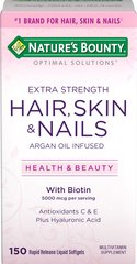 Hair, Skin and Nails Extra Strength with Argan Oil