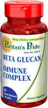 Beta Glucan Immune Complex  60 Capsules N/A 12.99