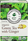 Organic Green Tea with Ginger