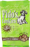 All Natural Chicken & Veggie Treats <p><b>From the Manufacturer's Label:</p></b> <p>Fido's all natural chicken and veggie treats come in a 12oz resealable bag  and are all-natural.  Contains no wheat and no corn products and are made in the USA.</p>  12 oz Bag  $8.09