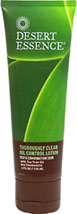 Tea Tree Oil Thoroughly Clean Control Lotion <p><b>From the Manufacturer</b></p>  <p>For Oily & Combination Skin</p> <p>With Tea Tree Oil and Chamomile</p> <p>Hydrates Oily/Combination Skin without Clogging Pores</p> <p>Helps Reduce Oil and Blemishes</p> <p>Leaves Skin Velvety Smooth Shine-Free</p>  <p>Organic chamomile and lavender oil are formulated with the natural properties of tea tree oil to help