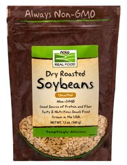 Dry Roasted Unsalted Soybeans