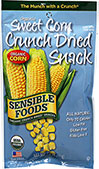 Organic Sweet Corn Crunch Dried Snack
