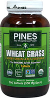 Wheat Grass 500 mg