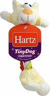 Tiny Dog Heads and Tails Toy <b><p>From the Manufacturer:</b></p><p>Tug, chew or fetch. These tiny toys are made of soft, plush, durable rope perfect for solo play or interactive games of tug of war. The lightweight, flexible design was created specifically for the needs of smaller dogs.</p> <p>Make sure to supervise your pet.  For chew and play only.  Not a child's toy.</p>   1 Each  $4.49