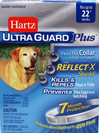 Ultra Guard Plus Flea & Tick Collar for Dogs <b><p>From the Manufacturer:</b></p><p>Hartz® UltraGuard Plus™ Flea & Tick Collar for Dogs kills and repels both fleas and ticks for 7 months plus it kills and prevents flea eggs for up to 7 months, thereby stopping the flea life cycle and preventing reinfestation.  Water resistant.   For use on puppies 6 weeks of age and older.</p>  1 Each  $13.99