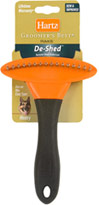 Groomers Best Dog Rake <b><p>From the Manufacturer:</b></p><p>These rakes deeply penetrate thick, heavy coats to de-shed coat, smooth fur, and prevents matting.</p> 1 Each  $9.99
