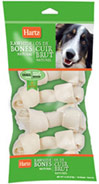 Natural Rawhide Small Bones <b><p>From the Manufacturer:</b></p><p>Rawhide chews are a natural way for you to satisfy your dog's innate desire to chew.  Additionally, rawhide provides importat dental benefits as it will naturally reduce plaque and tartar on your dog's teeth as they chew.  Hartz rawhide provides your dog with a natural and fun chew that promotes better oral health.</p> <p>For Small Dogs</p> <p>6 Pack</p> 6 pk Bon
