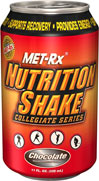 Nutrition Shake Collegiate Series Chocolate We are proud to bring you Nutrition Shake Collegiate Series from Met-Rx. Look to Puritan's Pride for high quality national brands at the best possible prices 12 pack- 11oz Liquid  $19.49