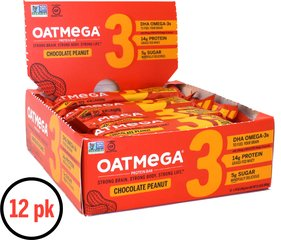 Dark Chocolate Peanut OATMEGA BARS