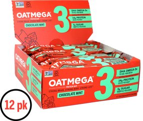 Dark Chocolate Mint OATMEGA BARS