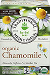 Organic Chamomile Tea <p><strong>From the Manufacturer</strong></p><p>Herbal Calmative & Digestive**</p><p>Caffeine Free</p><p>One of the sources of Traditional Medicinals® organic fair trade chamomile is the Royal Ottoman farms, which are spread over 4,000 acres in Egypt. Royal Ottoman was founded in 1906 in the city of Apotik, a Pharaonic name which means the warehouse of medicines and herbs.</p><p>At Royal Ottoman,