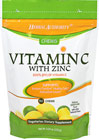 Vitamin C with Zinc We are proud to bring you Vitamin C with Zinc Chews.  Look to Puritan's Pride for high quality products and great nutrition at the best possible prices.  30 Chews  $14.99