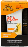 Tiger Balm® Neck & Shoulder Rub <p><strong>From the Manufacturer's Label:</strong></p><p>Pain Relieving Cream</p><p>Fast Relief</p><p>Non Greasy</p><p>Soothing Fragrance</p><p>A Massage on the go!</p><p>Hours at a desk or in front of a computer got you stiff?  Let Tiger Balm Neck & Should Rub massage those muscles.</p><p>Manufactured by Tiger Balm®.</p> 1.76 oz Cr