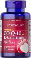 Co Q-10 30 mg plus L-Carnitine 250 mg