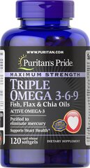 Triple Omega 3-6-9 with Fish, Flax & Chia