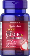 Q-SORB™ Ultra Co Q-10 200 mg & Cinnamon 1000 mg