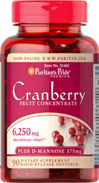 Cranberry Fruit Concentrate 6,250 mg equivalent per softgel plus D-Mannose